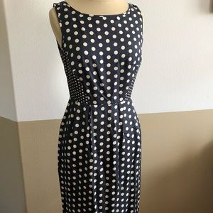Beautiful Anthropologie Polka Dot Dress!